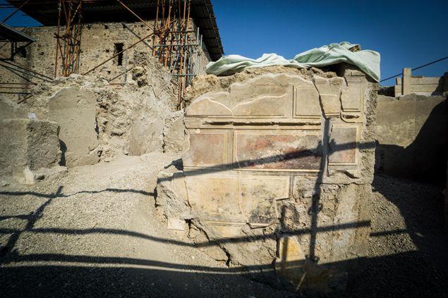 Ancient walls at Pompeii