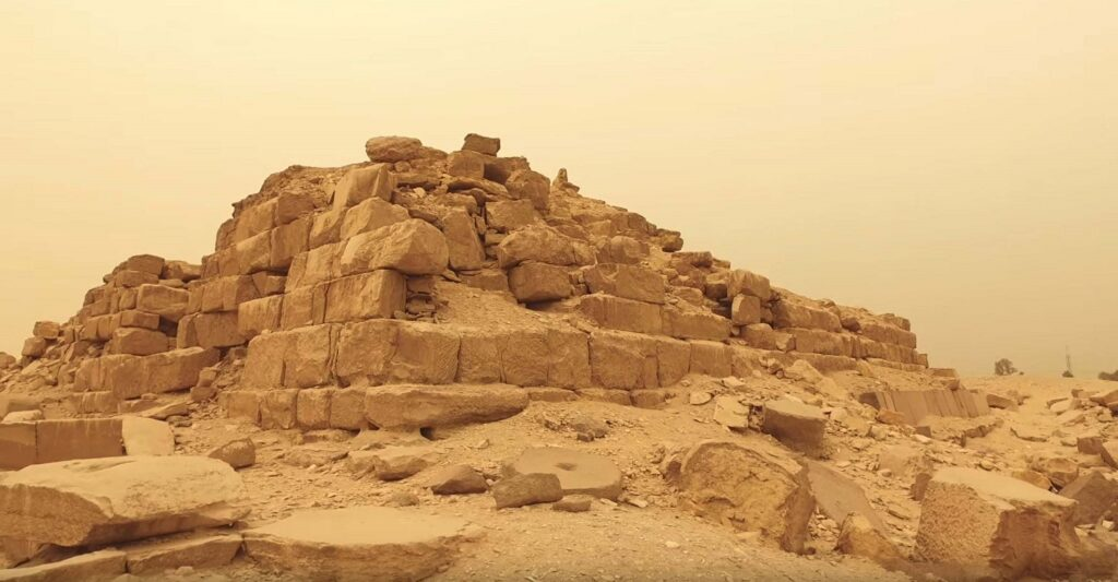 Pyramid at Abu Gorab