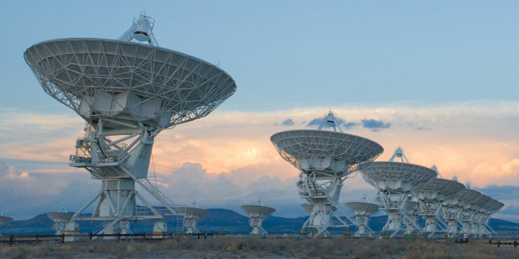 The Very Large Array (VLA)