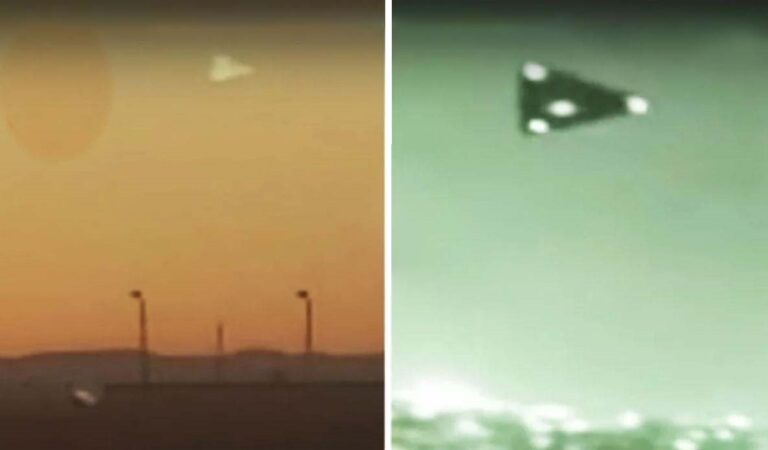 Is This The Best Video Footage Ever Filmed of the Mysterious Triangle-Shaped 'UFO'?