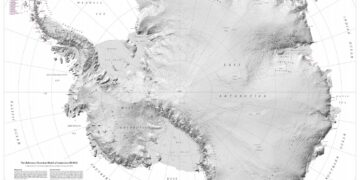 High-Res Map of Antarctica