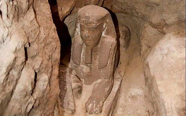 Archaeologists Discover Another Buried Sphinx at the Kom Ombo Temple Near Aswan