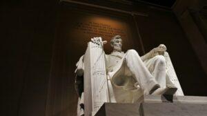 Abraham Lincoln 1920 statue
