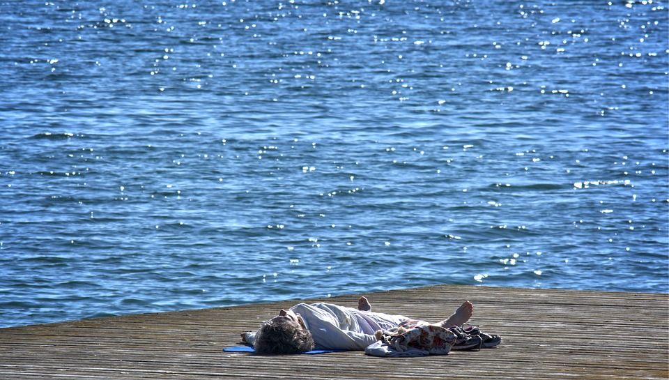Lying-Down Meditation