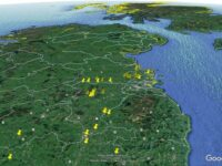 google maps, new discovery of ancient site in ireland
