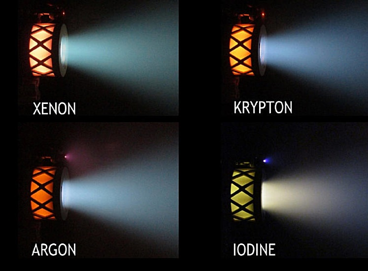 ion thrusters, ion propulsion,
