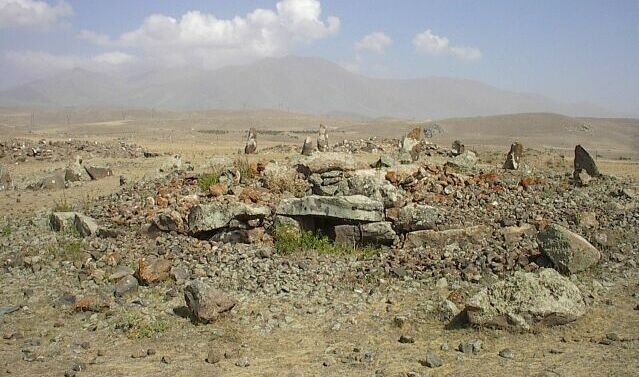 armenian stonehenge, tomb