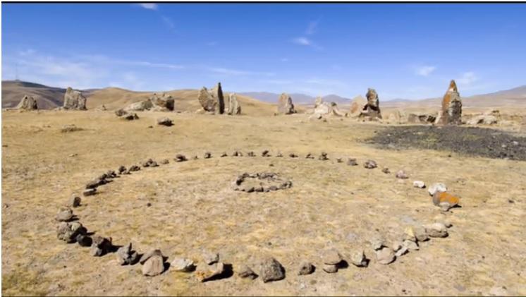 armenian stonehenge, circles