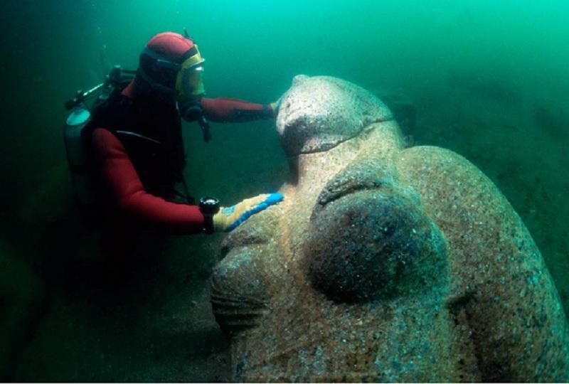 sunken treasures, ancient city