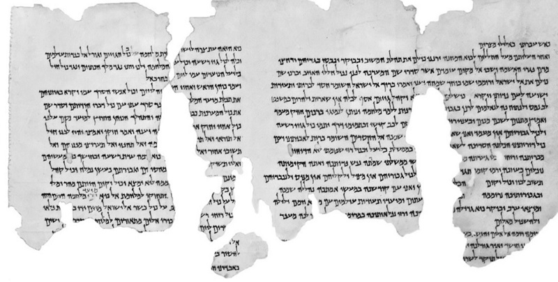 Dead Sea Scrolls, biblical sites